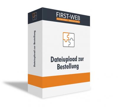 Dateiupload zur Bestellung für Modified Shopsysteme