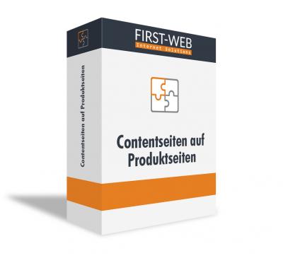 Contentseiten auf Produktseiten für Modified Shopsysteme