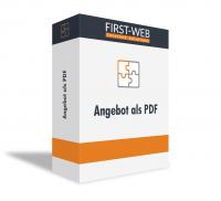 Angebot als PDF für Modified Shopsysteme